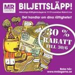 Nu kan du köpa biljetter till Mänskliga Rättighetsdagarna 17-19/11!